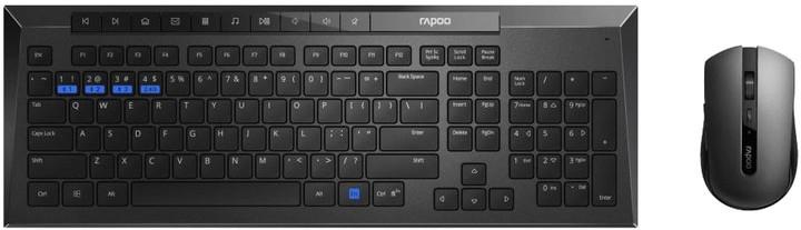 Rapoo 8200M, CZ/SK