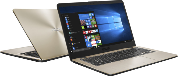 ASUS VivoBook 14 X405UA, zlatá
