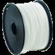 Gembird tisková struna (filament), PLA, 1,75mm, 1kg, bílá