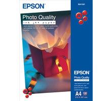 Epson Foto papír Photo Quality InkJet, A4, 100 ks, 100g/m2, matný