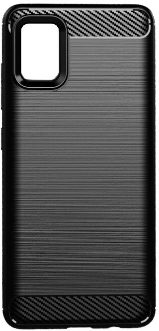 EPICO pouzdro CARBON pro Samsung Galaxy A51, černá