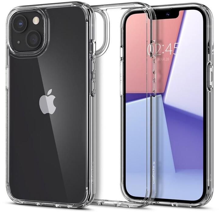 Spigen ochranný kryt Crystal Hybrid pro Apple iPhone 13, transparentní
