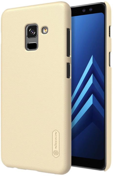 Nillkin Super Frosted zadní kryt pro Samsung A730 Galaxy A8 Plus, Gold