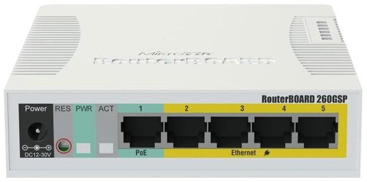Mikrotik CSS106-1G-4P-1S (RB260GSP)