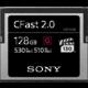 Sony G Series CFast 2.0 - 128GB  + Voucher až na 3 měsíce HBO GO jako dárek (max 1 ks na objednávku)