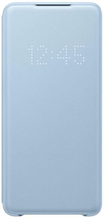 Samsung flipové pouzdro LED View pro Galaxy S20+, modrá