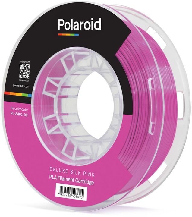 Polaroid 3D 250g Universal Premium PLA 1,75mm, růžová