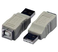 PremiumCord USB redukce A-B, Male/Female - kur-3