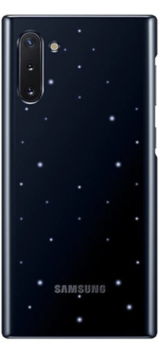 Samsung zadní kryt s LED diodami pro Galaxy Note10, černá
