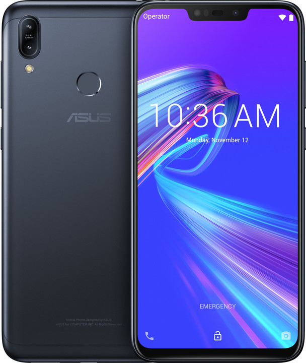 Asus ZenFone Max M2 ZB633KL, 4GB/32GB, černá