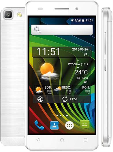 myPhone L-Line, Dual Sim, bílá