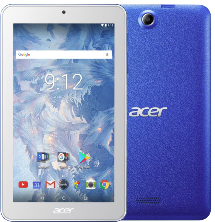 Acer Iconia One 7, modrá
