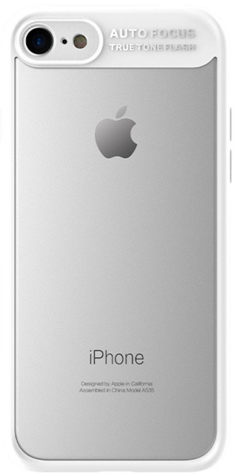 Mcdodo iPhone 7/8 PC + TPU Case, White