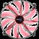 Aerocool Silent Master, 200 mm, červená