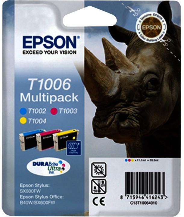 Epson C13T10064010, multipack