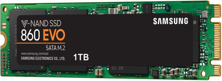 Samsung SSD 860 EVO, M.2 - 1TB