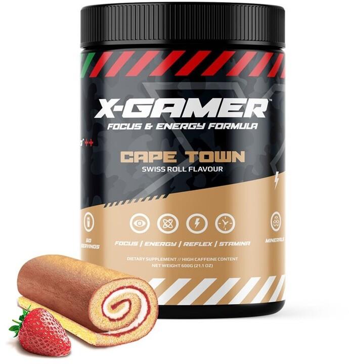Doplněk stravy X-Gamer X-Tubz - Cape Town, 600g