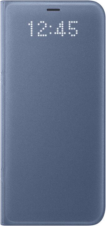 Samsung S8 Flipové pouzdro LED View, modrá