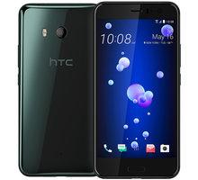 HTC U11, 4GB/64GB, Dual SIM, Brilliant Black, černá - Použité zboží