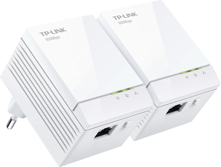 TP-LINK TL-PA6010, Mini Powerline Adapter, Starter Kit