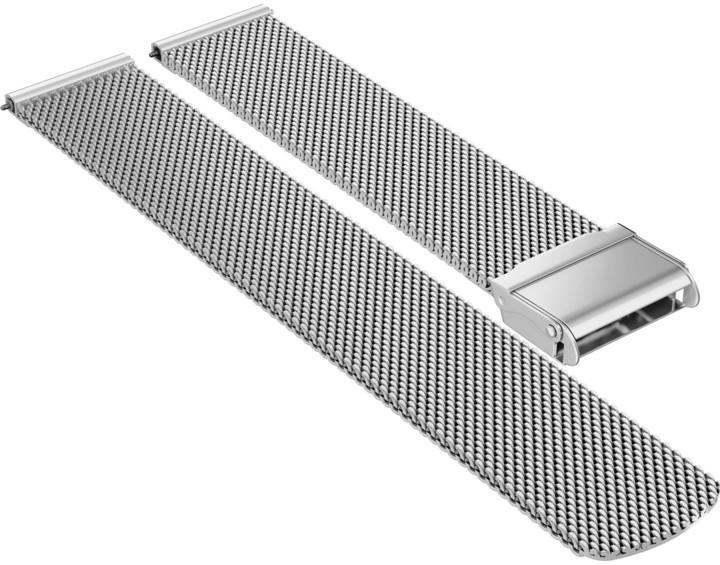 ASUS ZenWatch 2 Wren (kovový řemínek), stříbrná
