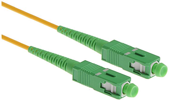 Masterlan optický patch cord, SCapc/SCapc, Simplex, Singlemode 9/125, 2m
