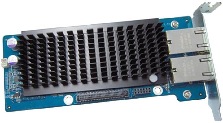 QNAP LAN-10G2T-X550 - síťová rozšiřující karta sítě 10 GbE se dvěma porty