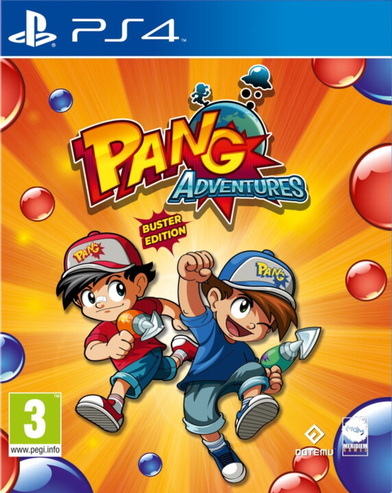 Pang Adventures - Buster Edition (PS4)