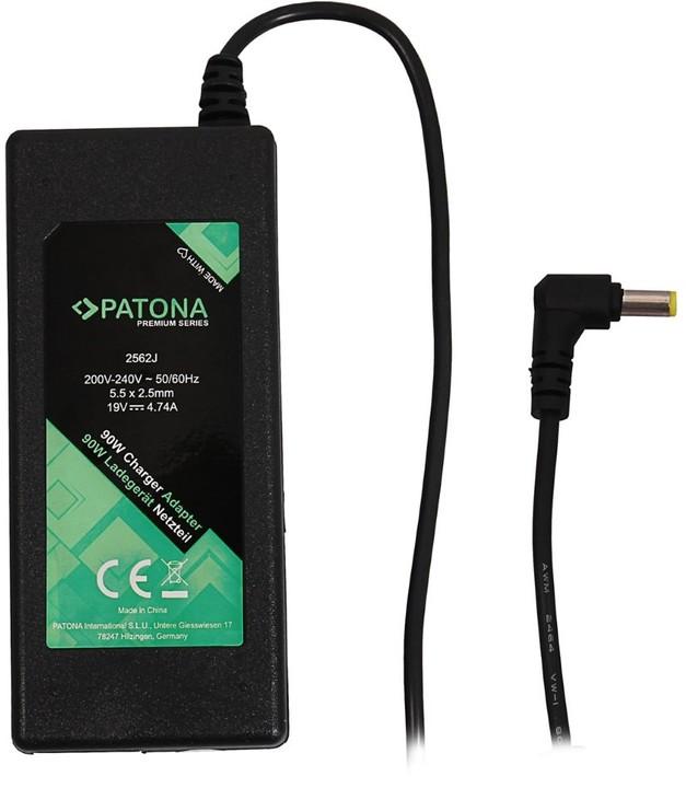Patona napájecí adaptér k ntb/ 19V/4,74A 90W/ konektor 5,5x2,5mm/ ACER PREMIUM
