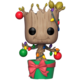 Funko POP! Bobble-Head Guardians of the Galaxy - Holiday Groot with Lights & Ornaments