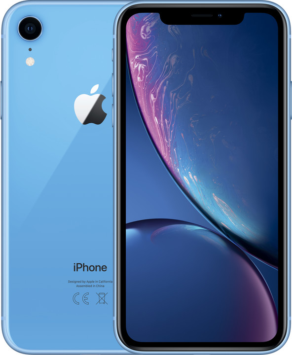 Apple iPhone Xr, 128GB, modrá