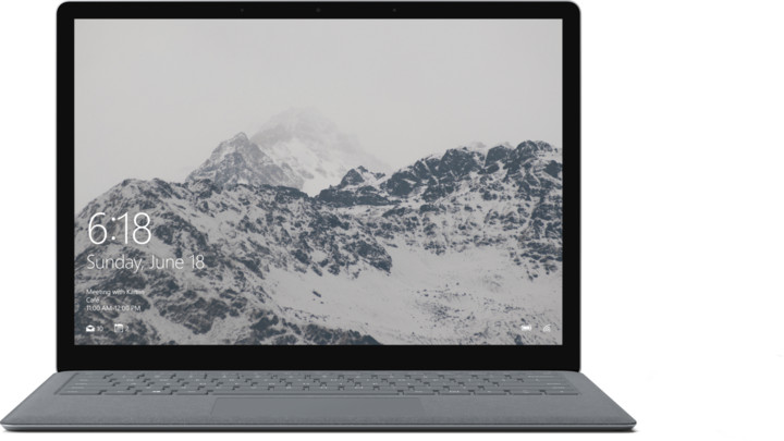 Microsoft Surface Laptop, stříbrná