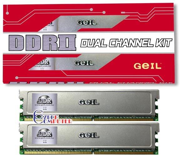 Geil DIMM 2048MB DDR II 533MHz Kit (GX22GB4300DC)