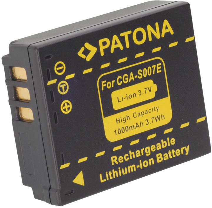 Patona baterie pro Panasonic S007E Li-Ion 3.6V 1000mAh