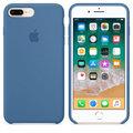 Apple silikonový kryt na iPhone 8 Plus / 7 Plus, džínově modrá