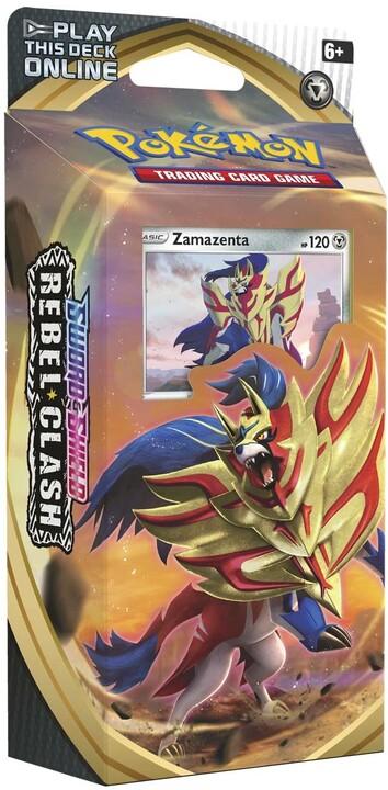 Pokémon TCG: Sword and Shield - Rebel Clash Zamazenta Theme Deck