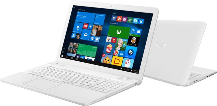 ASUS VivoBook Max X541NA, bílá