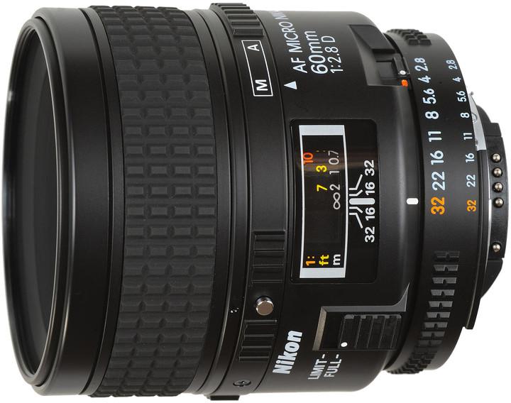 Nikon objektiv Nikkor 60mm f/2.8D AF Micro