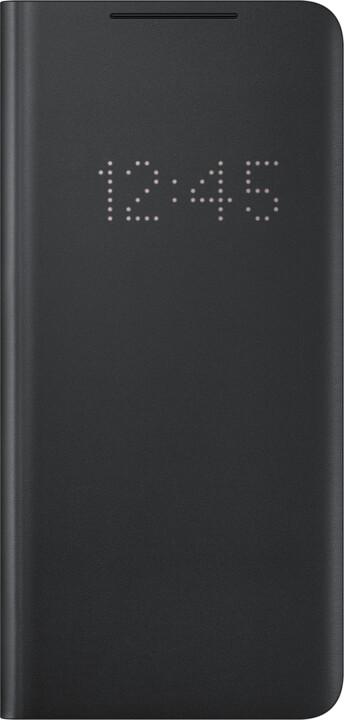 Samsung flipové pouzdro LED View pro Samsung Galaxy S21 Ultra, černá