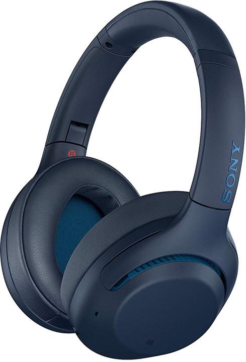 Sony WH-XB900N, modrá