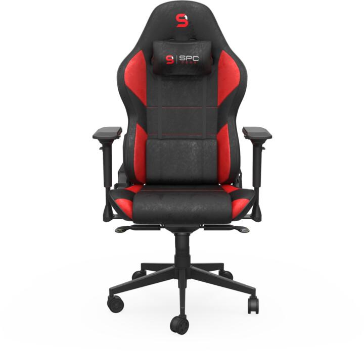SPC Gear SR600 RD černá/červená