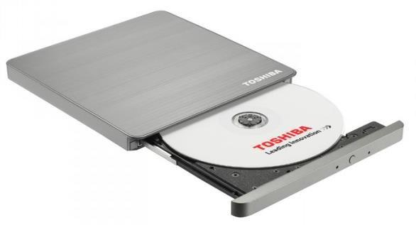 Toshiba USB 3.0 Portable SuperMulti Drive, externí, stříbrná