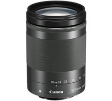 Canon EF-M 18-150mm f/3.5-6.3 IS STM, černý - 1375C005 + Ponožky se vzorem - velikost 38 - 42 v hodnotě 219 Kč