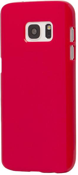 EPICO plastový kryt pro Samsung Galaxy S7 SPARKLING - červený