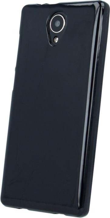 myPhone silikonové (TPU) pouzdro pro FUN LTE, černá