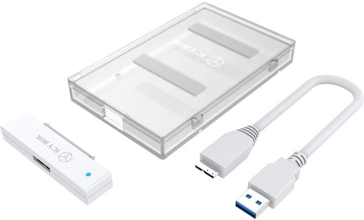 ICY BOX IB-AC603-U31, bílá