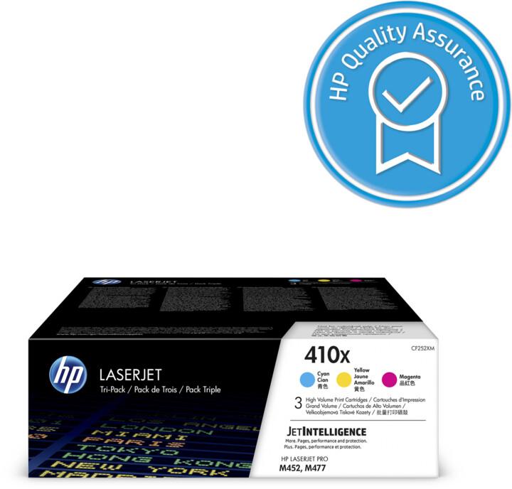 HP CF252XM no. 410X tri pack, CMY