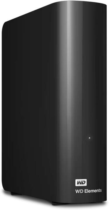 WD Elements Desktop, USB3.0 - 18TB, černá