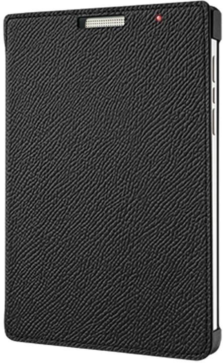 BlackBerry flipové kožené pouzdro pro BlackBerry Passport Silver Edition, černá