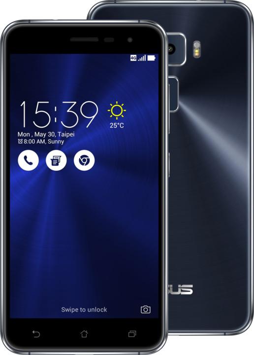 ASUS ZenFone 3 ZE520KL, 4GB/64GB, černá